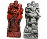 Kama Sutra Chess Pieces - Closeup
