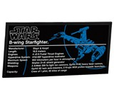 LEGO Star Wars 10227 B-wing Starfighter Specs