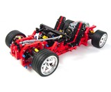 LEGO Vampire GT Supercar - Skeleton