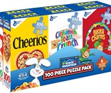 Mini Cereal Boxes Puzzle Pack