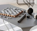 Rolz Chess & Checkers Set