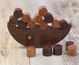 Rusticity Wood Balancing Game