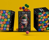 The Fuzzies Pom Pom Ball Stacking Tower Game