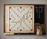 Wall Scrabble