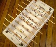 Flat Pack Cardboard Foosball Table