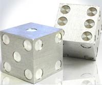 Precision Machined Metal Dice