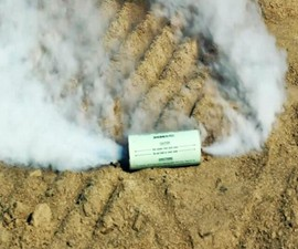 40,000 Cubic Foot Smoke Grenade