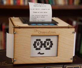 Choosatron - Choose Your Own Adventure Arcade