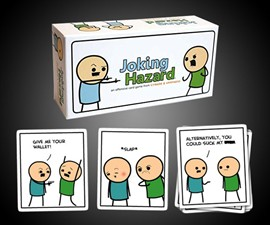Joking Hazard - Build Funny (and Terrible) Comics