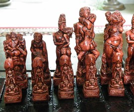 Kama Sutra Chess Pieces (NSFW)