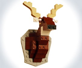 LEGO Taxidermy Deer Kit