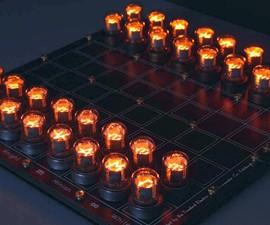Nixie Chessboard