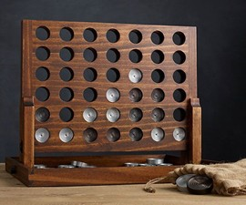 Wood & Aluminum Connect Four