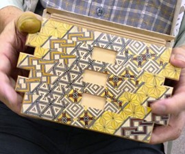 Yosegi Japanese Puzzle Boxes