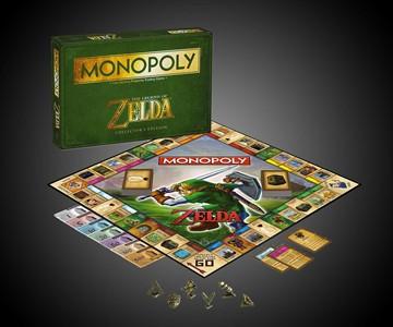 Legend of Zelda Collector's Edition Monopoly