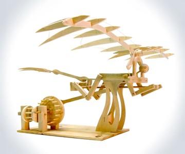 Leonardo DaVinci Ornithopter Wood Kit