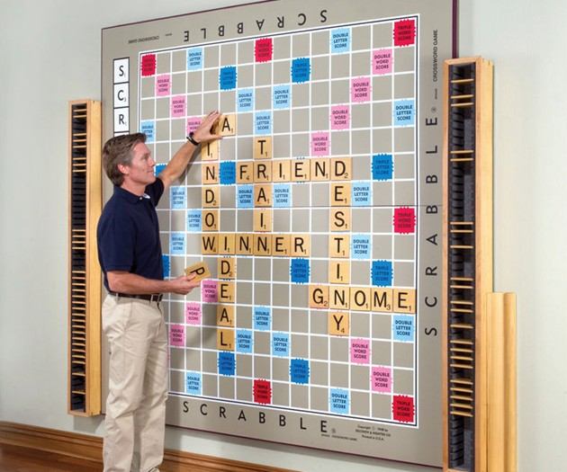 The World's Largest Scrabble Board