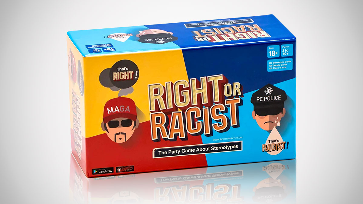 Right Or Racist: The Party Game About Stereotypes