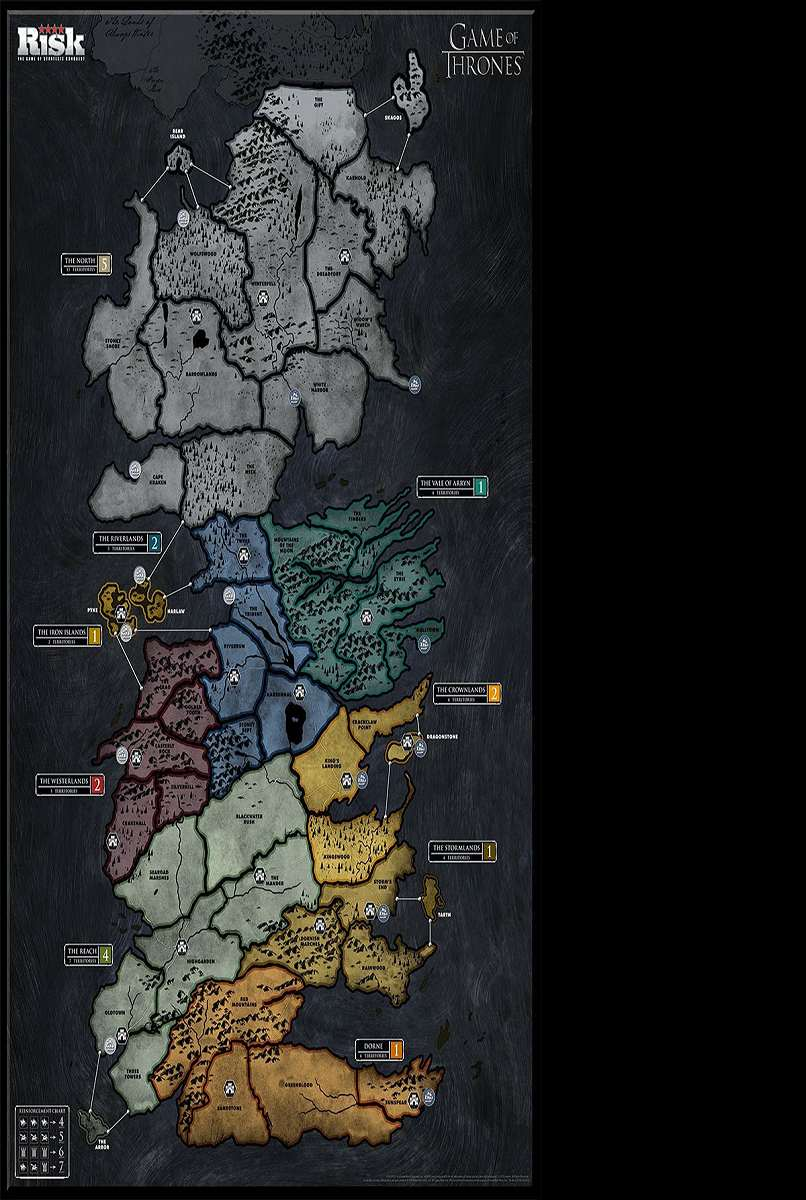 Risk: Game of Thrones Edition | DudeIWantThat.com