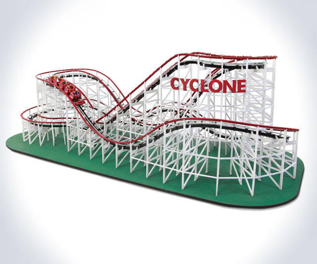Self-Propelled Wooden Roller Coaster