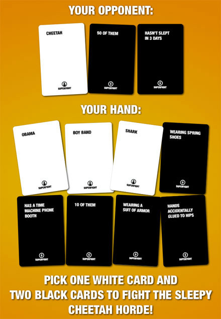 Superfight! Card Game | DudeIWantThat.com
