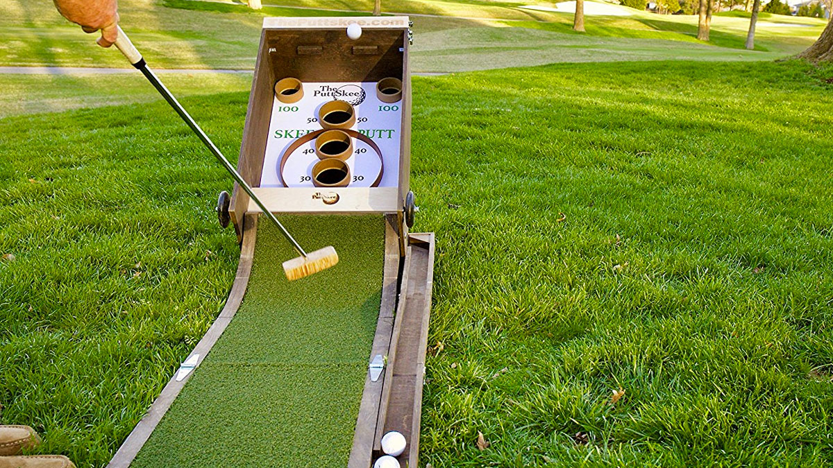 baseball golf, hockey golf, plinko golf, on miniature golf course design skee ball