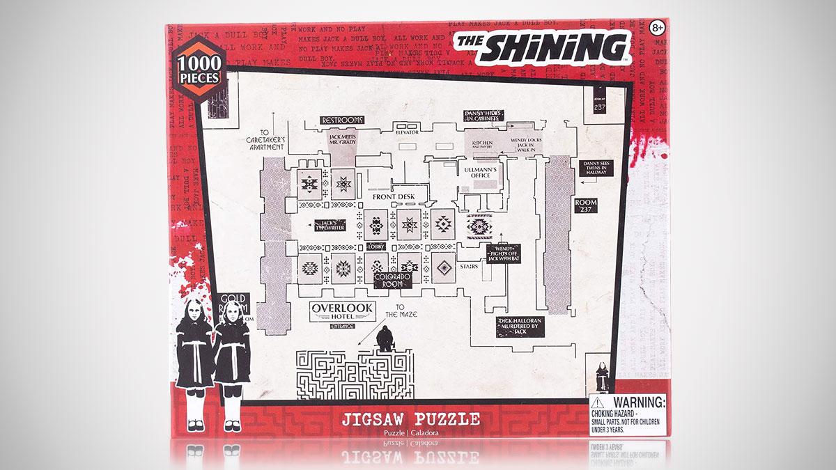 The Shining Floor Plan Jigsaw Puzzle