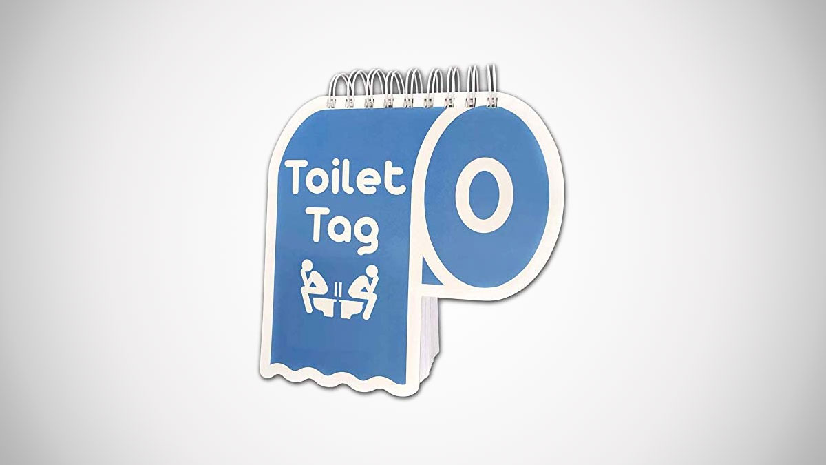 Toilet Tag Game for Adults Who Share the Same Potty