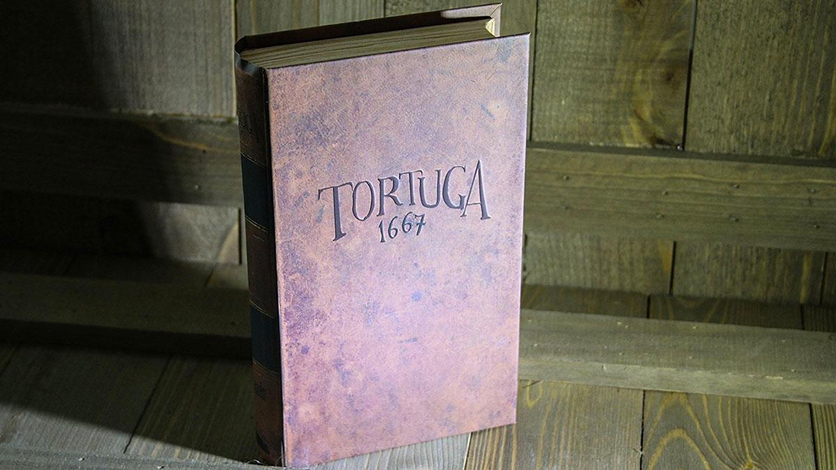 Tortuga 1667 - Pirate Board Game in a Book