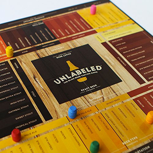 Unlabeled The Blind Beer Tasting Board Game
