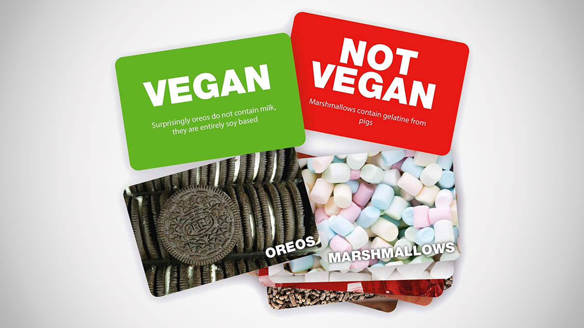 Vegan Not Vegan Game
