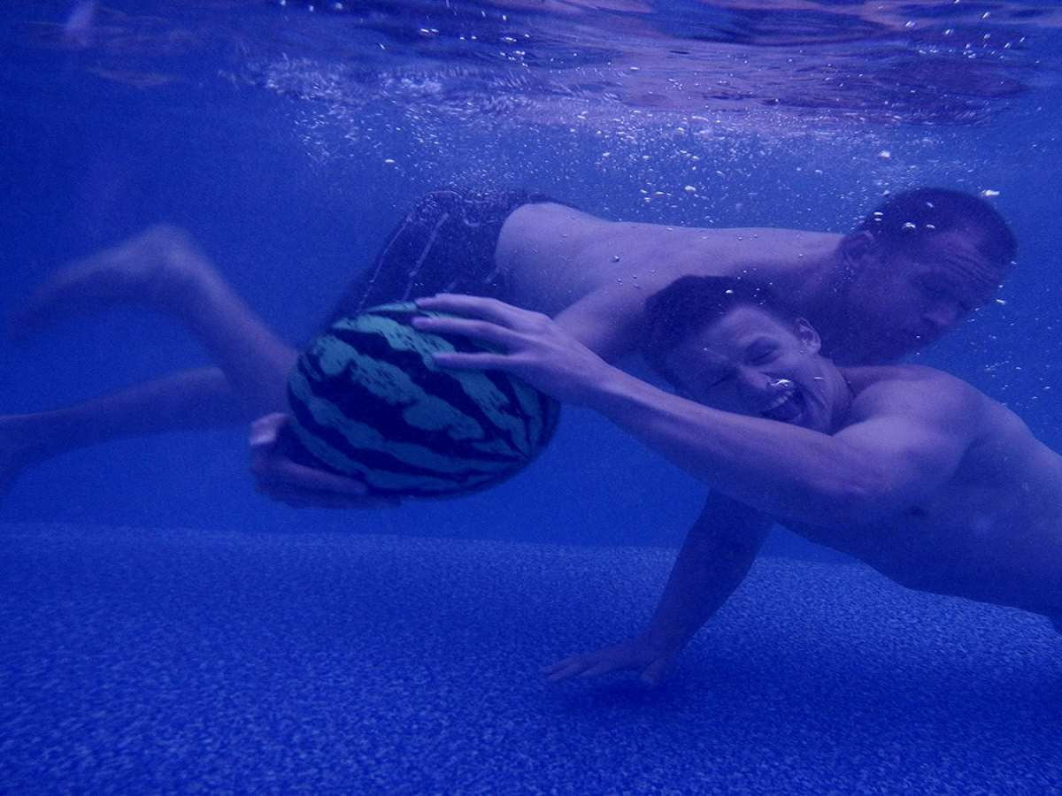 Watermelon Ball Swimming Pool Game Dudeiwantthat Com