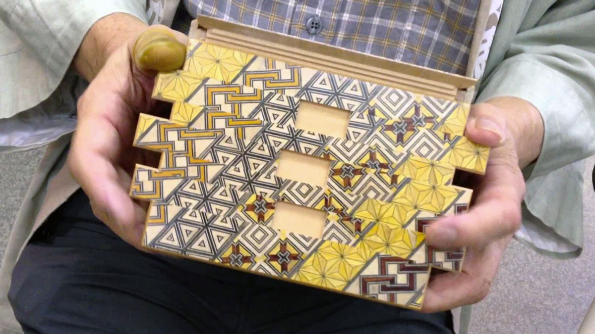 Yosegi Japanese Puzzle Box
