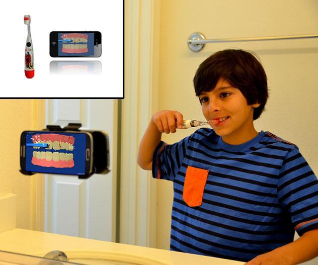 Grush Gaming Toothbrush For Kids Dudeiwantthat Com