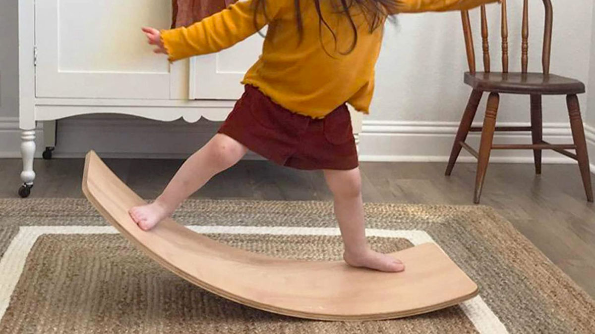 Little Dove Multi-Functional Wooden Wobble Board