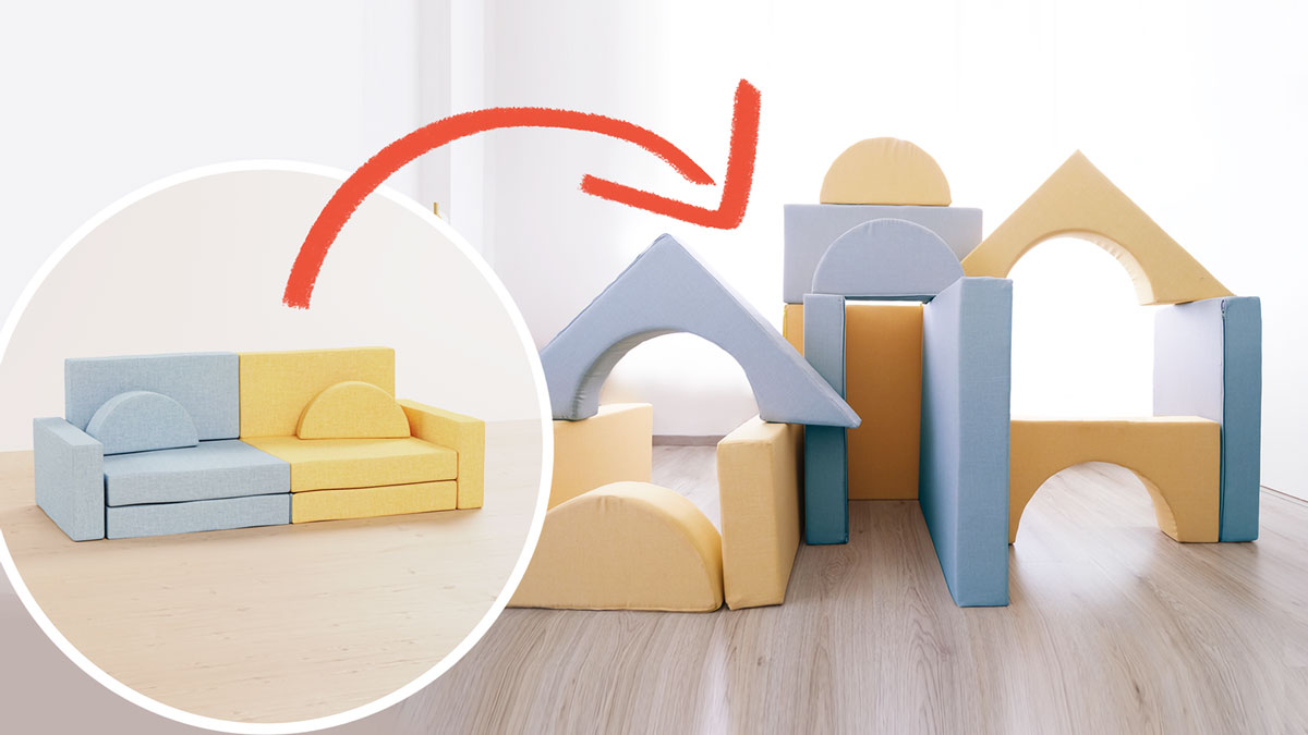 Magnus Magnetic Play Couch