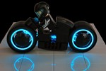 TRON LEGO Light Cycle-7935