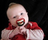 Little Vampire Pacifier