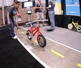 Gyrobike Self-Stabilizing Training Wheels