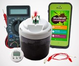 MudWatt STEM Kit - Grow Your Own Living Fuel Cell