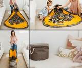 SlideAway LEGO & Kid Clutter Cleanup Basket