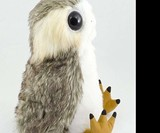 The Last Jedi: Life-Sized Interactive Porg Plush