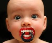 Little Vampire Pacifier