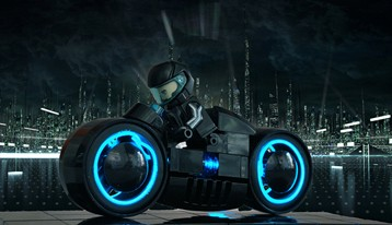 TRON LEGO Light Cycle