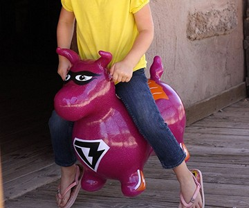 Benny the Jumping Bull Inflatable Hopper