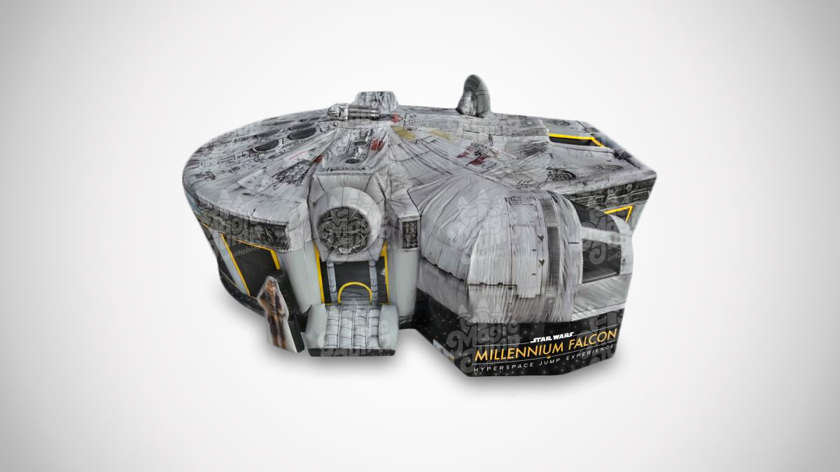 Star Wars Millennium Falcon Experience Bounce House