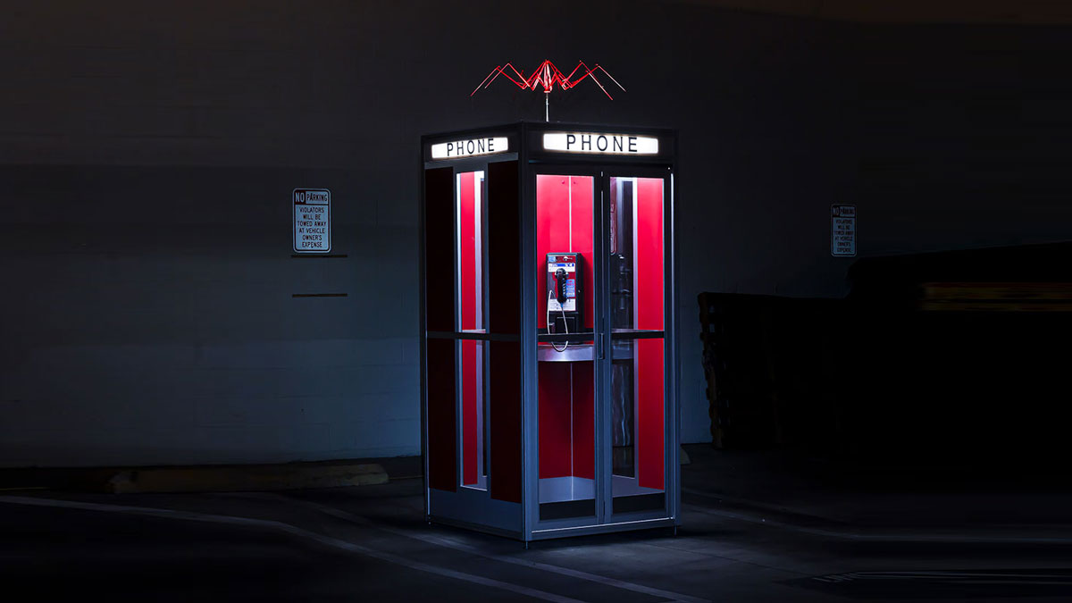 Bill & Ted's Excellent Phone Booth