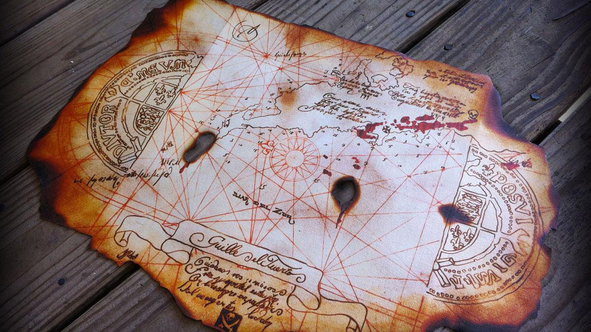 goonies treasure map dudeiwantthat