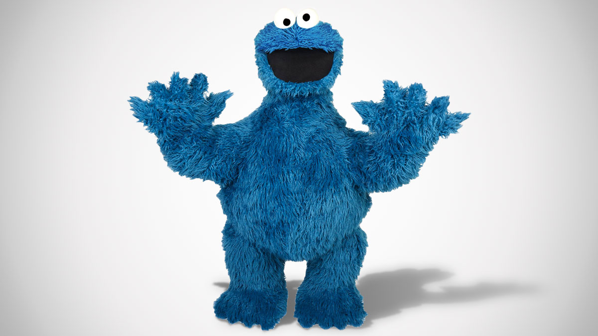 Life-Size Posable Cookie Monster Replica