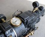 The Goliathon Steampunk Gun - Closeup